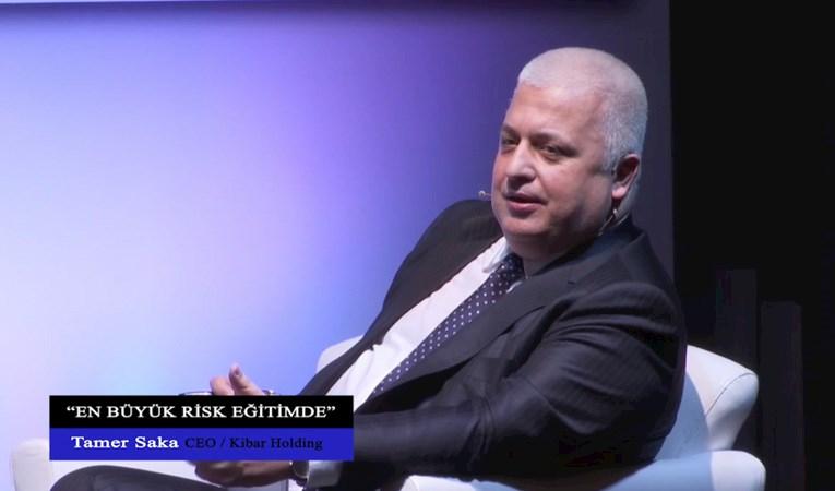 """Tamer Saka: """"En büyük risk eğitimde"""""""
