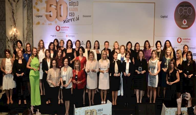 İşte Türkiye'nin 50 güçlü kadın CEO'su