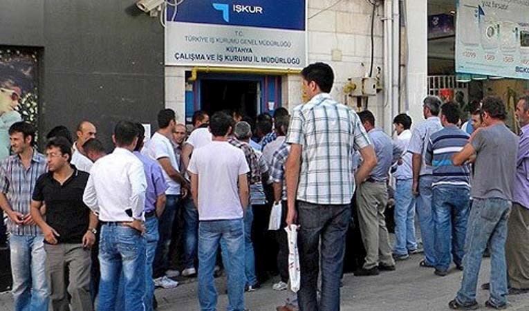 İşsizlik yüzde 12,3'e çıktı