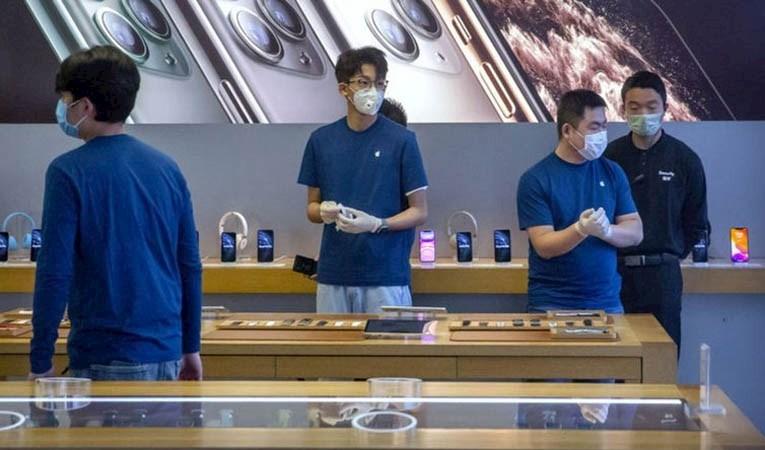 Apple'a koronavirüs şoku