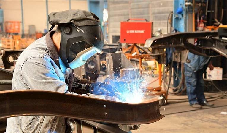 Sanayi üretim endeksi haziranda yüzde 17,6 arttı