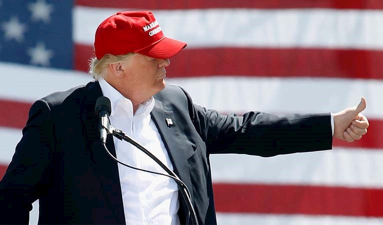 """Trump'tan """"Çin"""" açıklaması"""