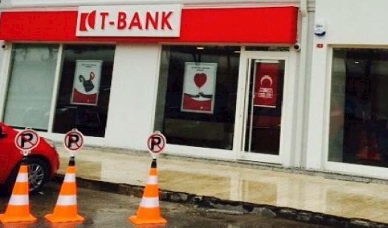 T-BANK 9 ŞUBESİNİ KAPATTI