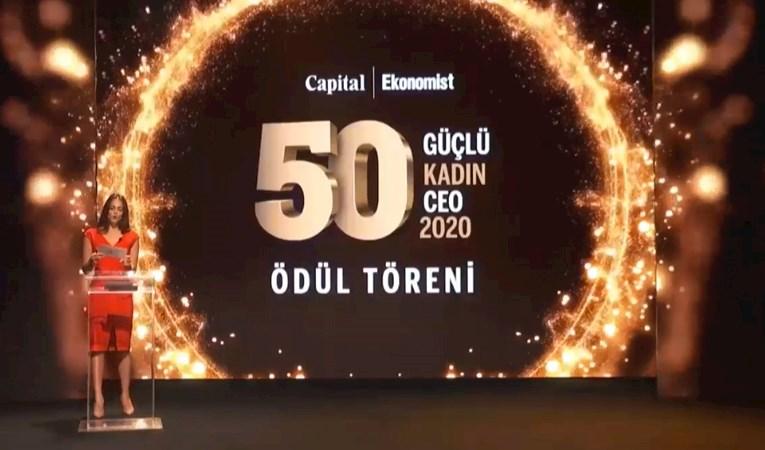 Türkiye'nin en güçlü kadın CEO'ları ödüllendirildi