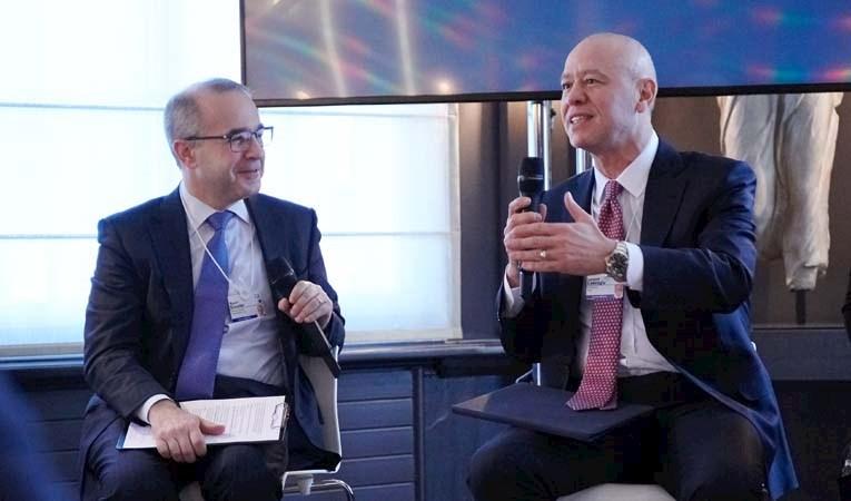 Koç'taki değişimi Davos'ta anlattı