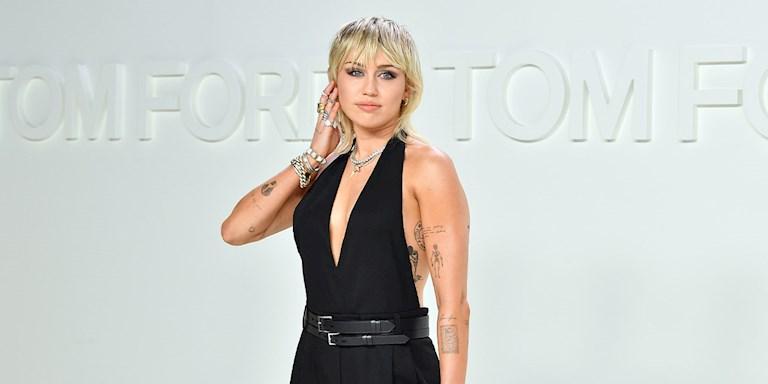 Miley Cyrus'un Yeni Saç Kesimi: Pixie Saç