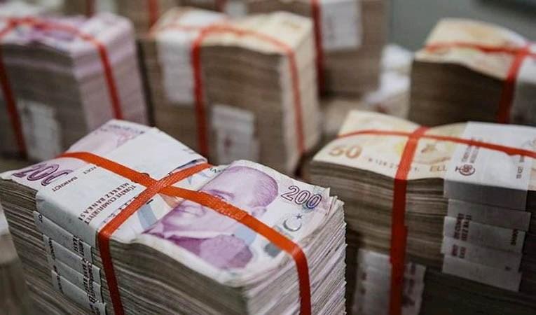 Bütçede ocak ayında 21,5 milyar lira fazla