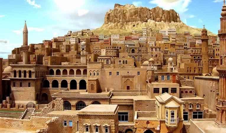 Mardin'de oteller doldu