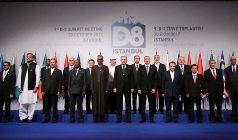 D-8 Ekonomik İş Birliği Zirvesi başladı