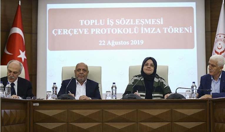 Kamuda Toplu İş Sözleşmesi imzalandı