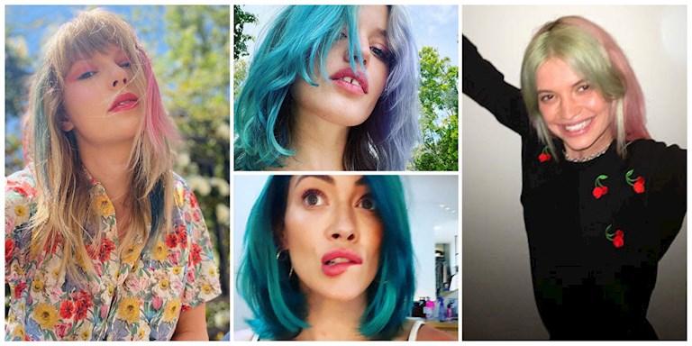 17 Ünlünün Karantina Saç Değişimleri ve Stilleri