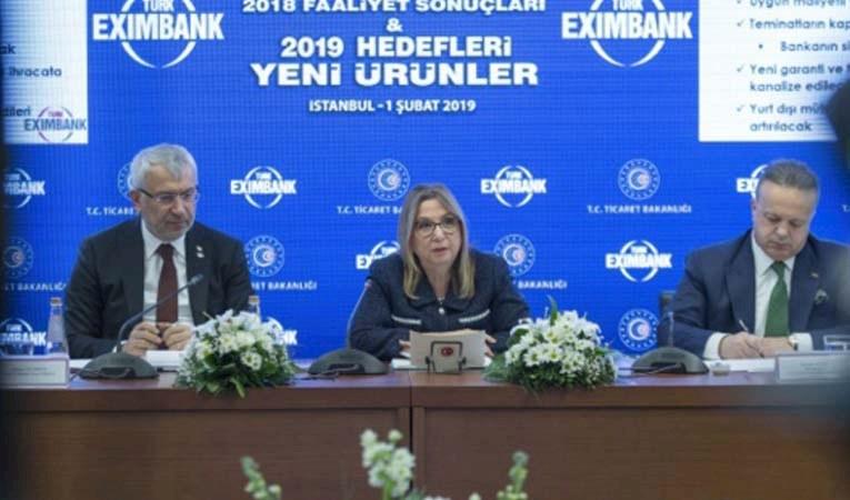 Türk Eximbank 2019 hedeflerini açıkladı