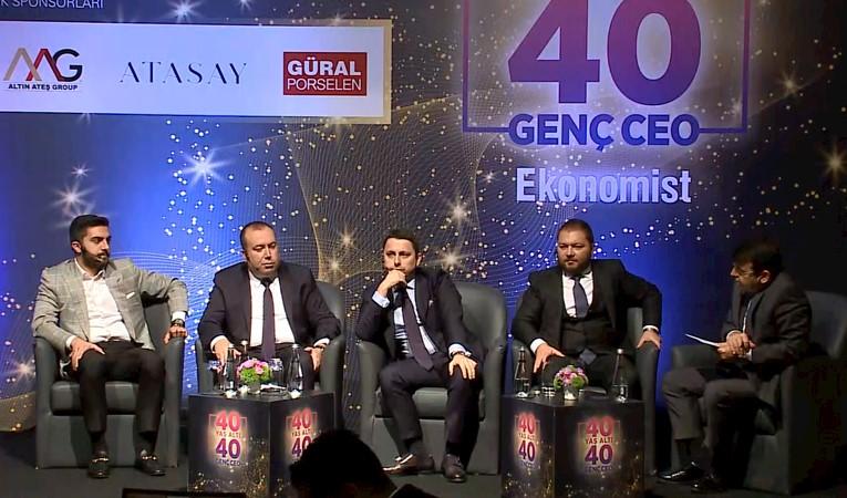 40 Yaş Altı 40 Güçlü CEO 'Genç CEO'ların Ajandası' paneli