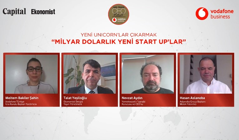 CEO Club'da milyar dolarlık yeni start up'lar