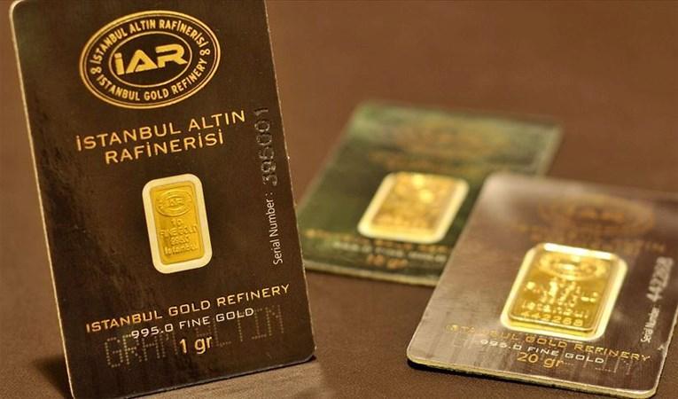 'Darphane gram altın üretimine yeniden başladı'