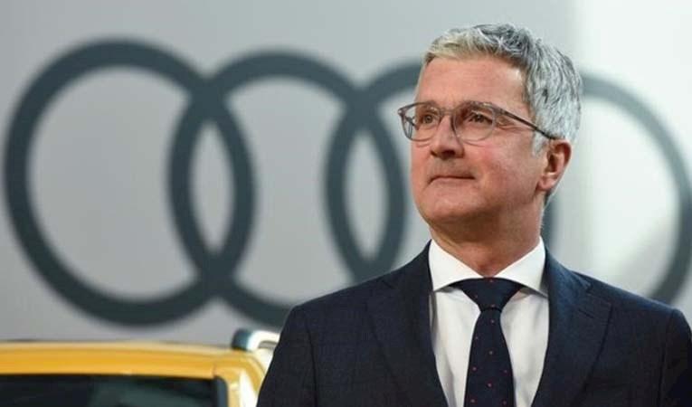 Audi CEO'su gözaltına alındı