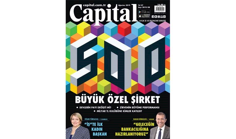 CAPİTAL500 AÇIKLANDI