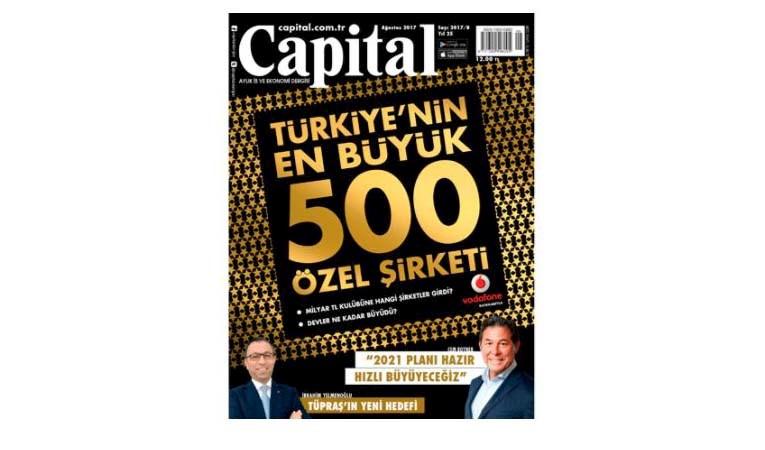 Capital 500: Türkiye'nin En Büyük 500 Özel Şirketi