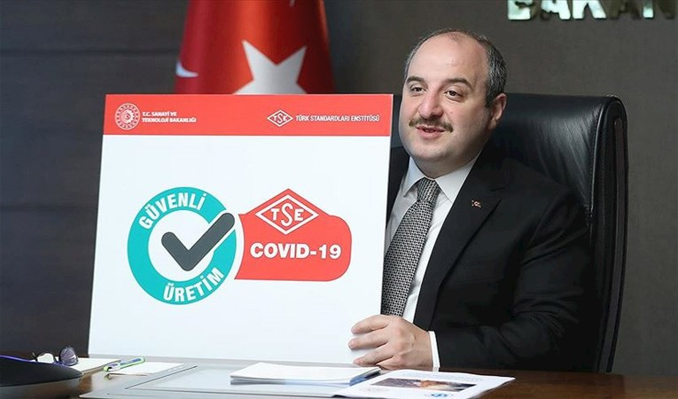 Varank: Kovid-19 güvenli üretim belgeleri verilmeye başlandı