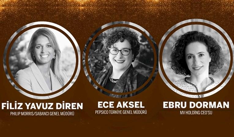Türkiye'nin 'En Güçlü 50 Kadın CEO'su ödüllendirildi