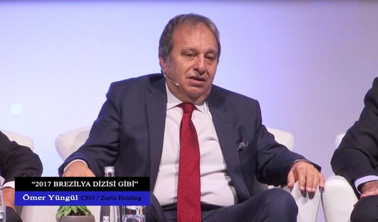 "Ömer Yüngül: ""2017 Brezilya dizisi gibi"""