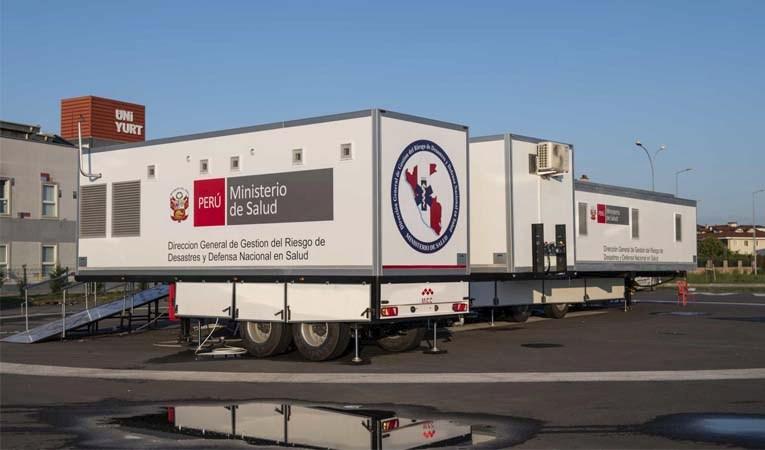 Yerli mobil hastanelere dünyadan ilgi