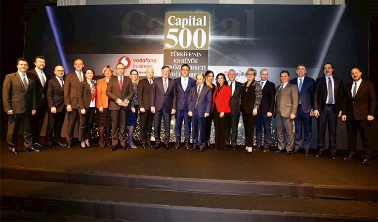 Capital 500'de ödül gecesi