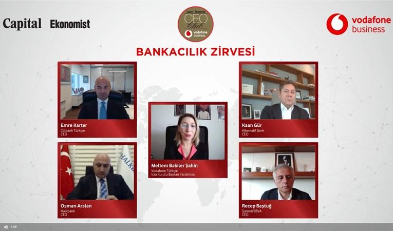 Bankacılık sektörünün 2021 ajandası CEO Club'ta masaya yatırıldı