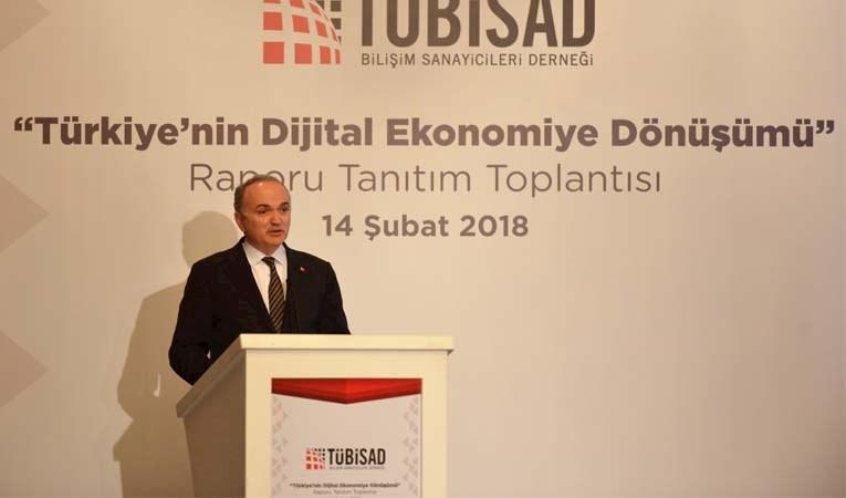 """TÜBİSAD'DAN 'DİJİTAL DÖNÜŞÜM"""" RAPORU"""