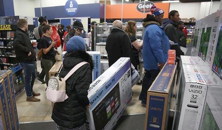 ABD'de perakende satışlar mayısta rekor seviyede arttı