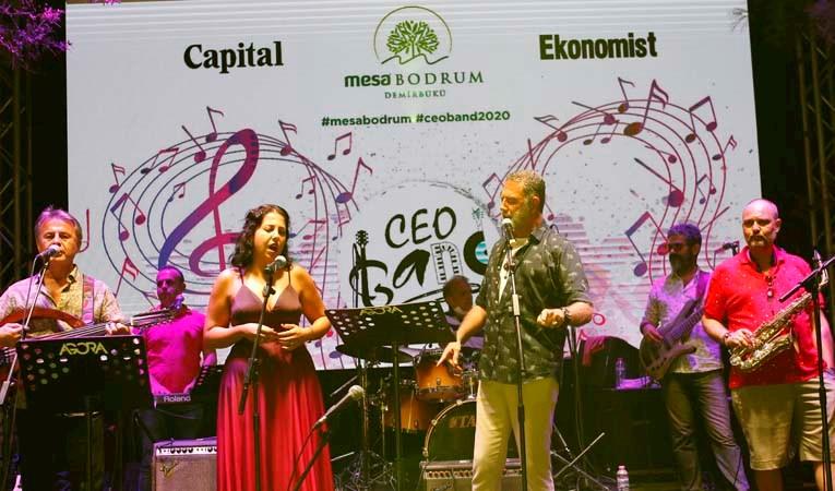 CEO Band, Bodrum'da sahne aldı