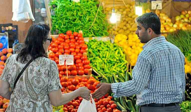 Enflasyonda %1,44'lük düşüş
