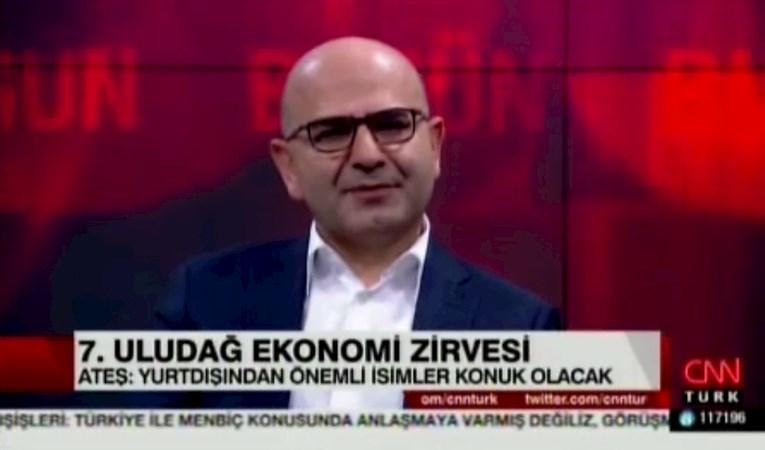 Rauf Ateş CNN Türk TV'de Uludağ Ekonomi Zirvesi'ni anlatıyor